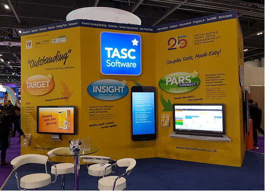 BETT Show 2019 - Top design stand TASC Software Solutions